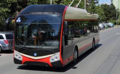 Obyvatele Jihlavy vozí nové trolejbusy ze Škody Electric.